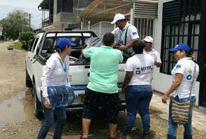 Emergencia en Colombia: nuestros equipos responden a la emergencia por inundaciones y avalanchas en Mocoa