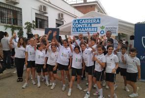 Unos 350 colegios de España han corrido contra la desnutrición infantil