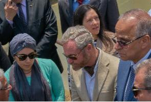 Qalyubia's governor with representatives from the EU and the German Cooperation/GIZ visited 'Health Match for Khosos'