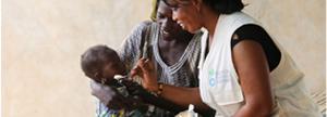 Si donas 40 €, proporcionas tratamiento nutricional para un niño durante un mes.