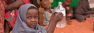 Proporcionas acceso a agua segura a una familia