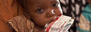 Proporcionamos 1 tratamiento nutricional para un niño durante 40 días.