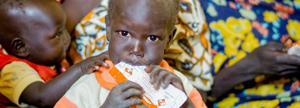 Proporcionas tratamiento nutricional para un niño durante 1 mes