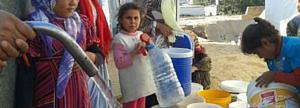 Suministras agua potable y rehabilitas los sistemas de suministros de agua.
