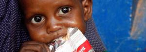 You provide nutritional treatment for a child with malnutrition