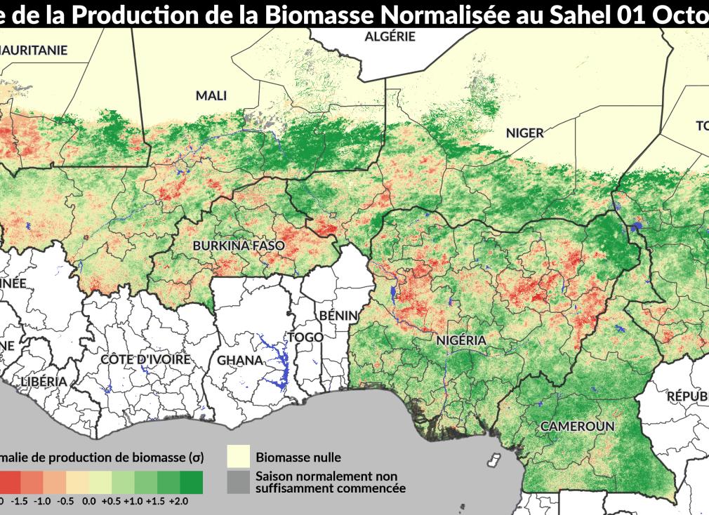 Información geográfica para reducir el hambre