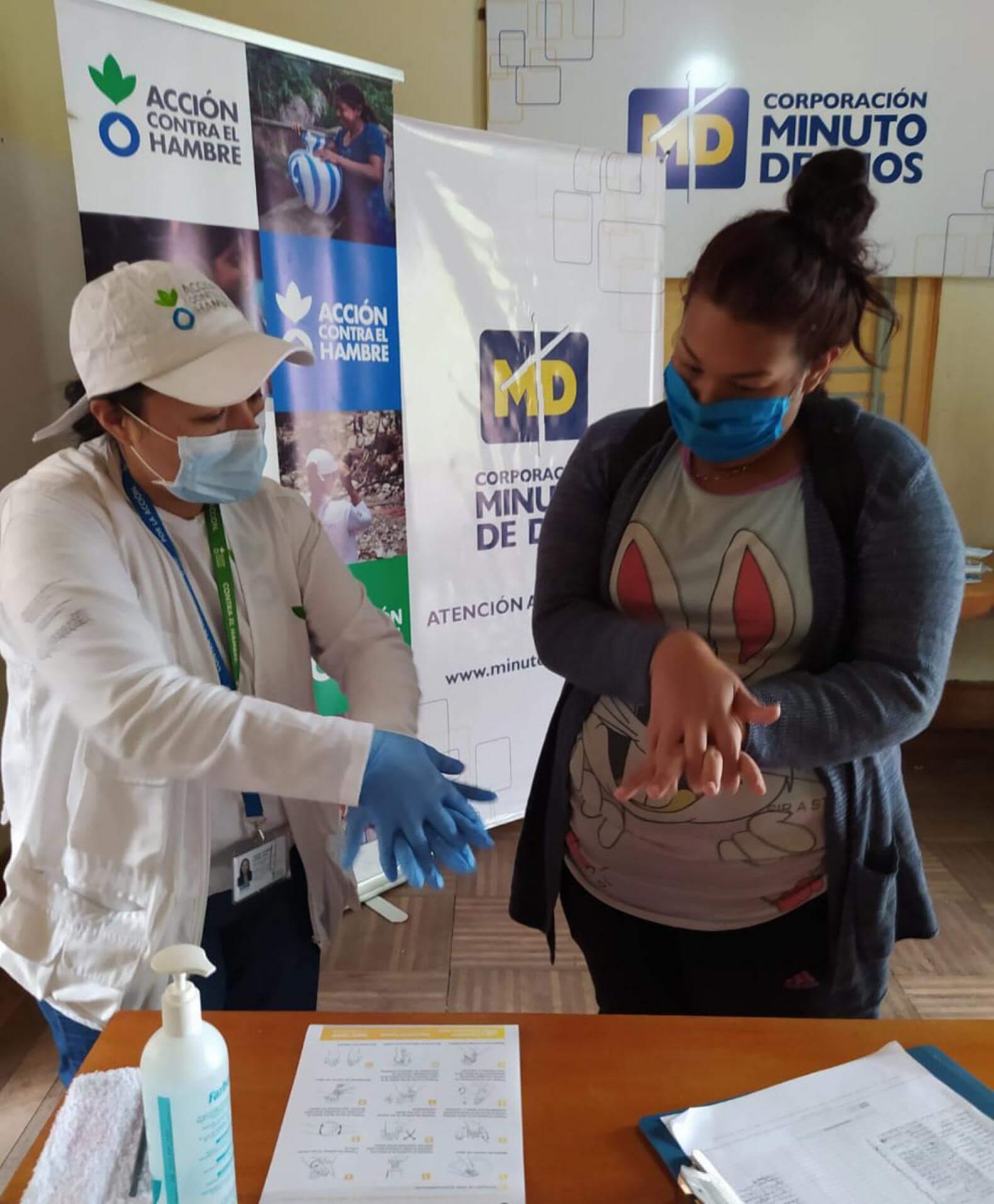 En Colombia contra el coronavirus