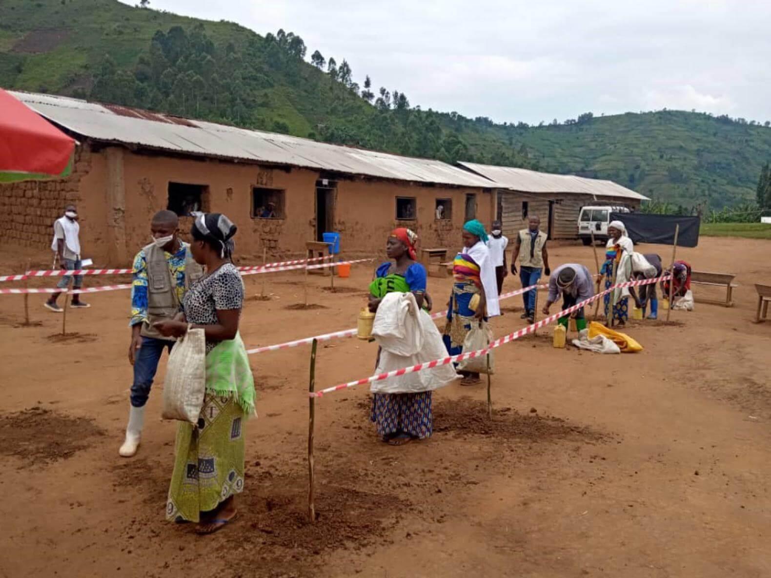 En RDC contra el coronavirus