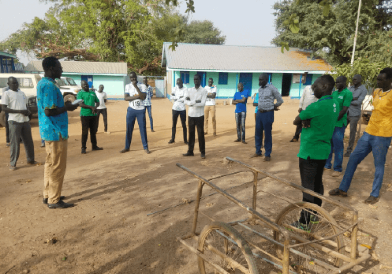 En Sudán del Sur contra el coronavirus