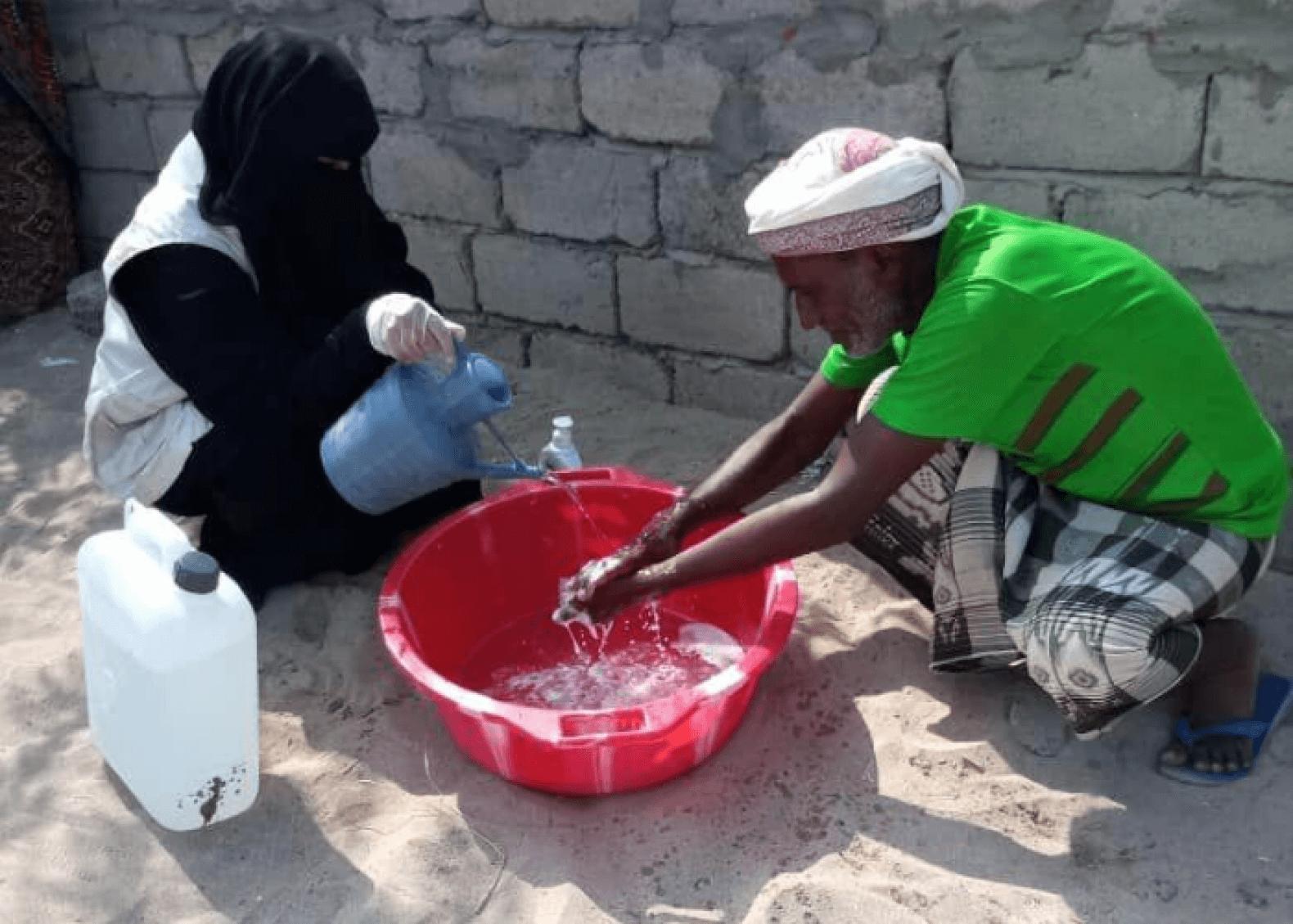 En Yemen contra el coronavirus