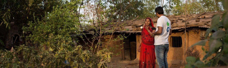 India: huertos particulares para garantizar la seguridad alimentaria
