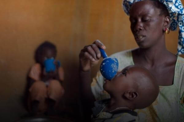 Casi todo el país se encuentra en un nivel crítico de desnutrición aguda.