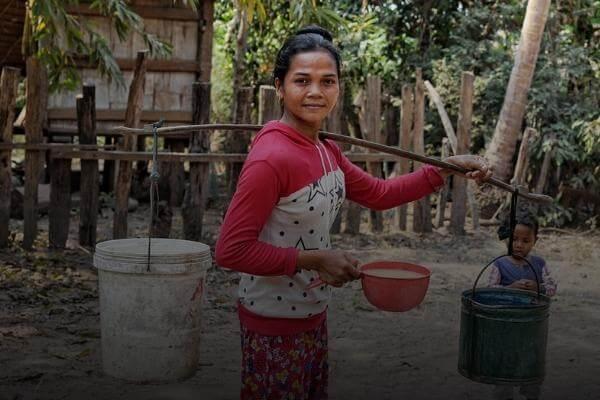 Fortalecemos las habilidades y herramientas de las comunidades para combatir la desnutrición en Camboya