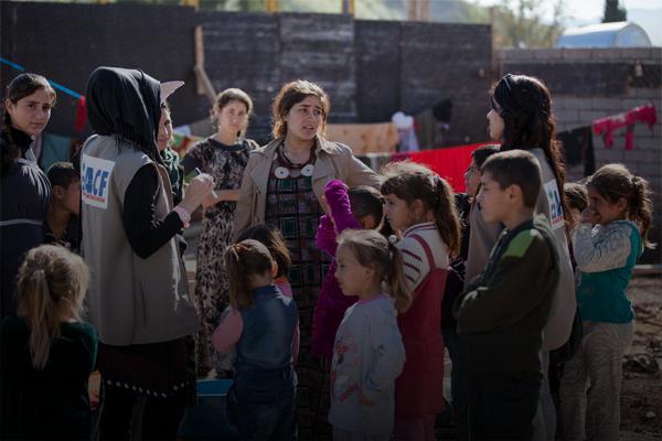 Nuestro trabajo en Kurdistán