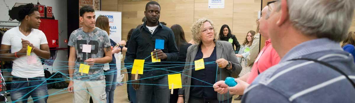 Participamos en redes para el empleo y emprendimiento inclusivos