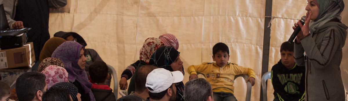 Nuestras actividades en Jordania