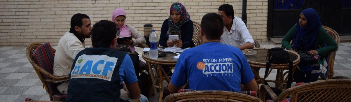 Nuestro trabajo en Egipto