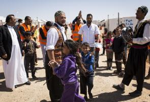 Jordan: An awareness campaign to highlight the importance of water in the Azraq camp