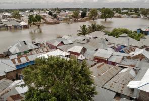 Las inundaciones castigan a Somalia