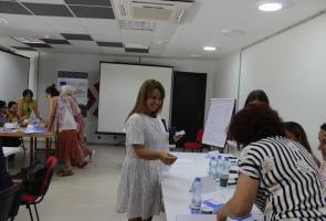 Women's Leadership Training in Akhmeta