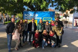 50 emprendendores de Málaga organizan un mercadillo solidario