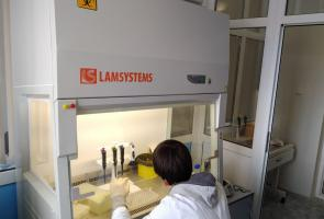 Veterinary lab equipped and ready for disease detection