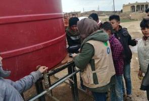 Siria: aumentamos distribuciones de agua para prevenir expansión de la COVID-19