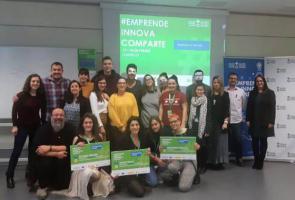 Una app para facilitar la integración social de las personas con trastorno mental gana el concurso Emprende-Innova-Comparte