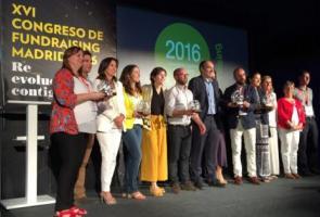Premio a la mejor campaña de fundraising por el Challenge Interempresa contra el Hambre 2015