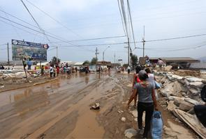Inundaciones en Perú: un millón de personas siguen afectados