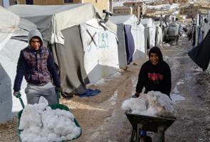 Líbano: una nueva ola de frío golpea a los refugiados sirios