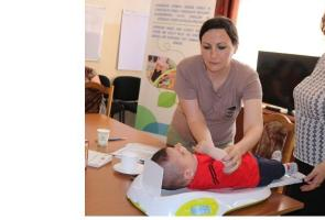 Action Against Hunger supports Baby Friendly Spaces in social centres in Armenia