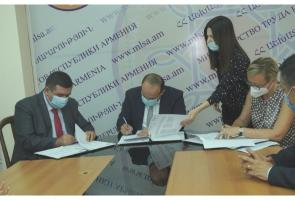 MoU signed with Republic of Armenia Ministry of Labor and Social Affairs and GIZ