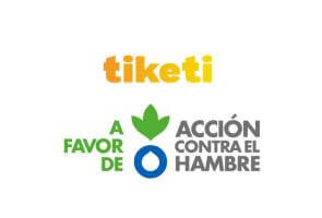 Dona el importe de tus promociones a través de la app Tiketi