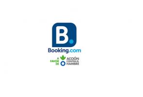 Reservando en Booking.com a través de nuestro enlace, donarás sin esfuerzo un 7% a la lucha contra la desnutrición