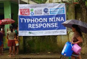 """Tifón Nina: """"la preparación de Filipinas ha evitado una catástrofe mayor"""""""