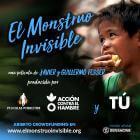 Ayúdanos a  vencer al monstruo invisible