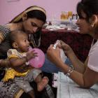 La lucha contra la desnutrición infantil en la India