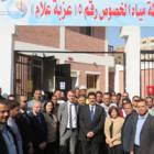 Governor of Qalyubia opens the water well site in Khosos