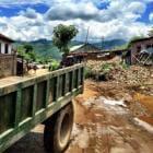 La reconstrucción avanza, pero las tierras no se cultivan desde el terremoto