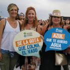 Más de 1000 personas firman en el Sonorama por el derecho al agua segura en el mundo