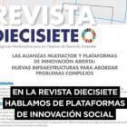Revista Diecisiete: alianzas multiactor y plataformas de innovación