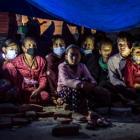De la destrucción a dormir en las calles de Katmandú