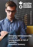 Emerging entrepreneurship sectors for young people at risk of exclusion. Executive summary