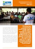 MICROINSURANCE IN ACF: PHILIPPINES CASE STUDY