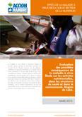 Effets de la maladie à virus Ebola sur le secteur de la nutrition