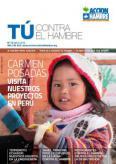 TÚ CONTRA EL HAMBRE: CARMEN POSADAS VISITA NUESTROS PROYECTOS EN PERÚ