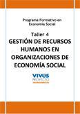 Gestión de recursos humanos en organizaciones de economía social