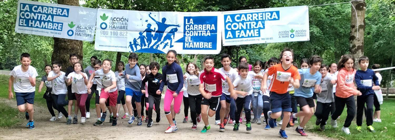 140 000 niñas y niños corren en La Carrera contra el Hambre de 2017