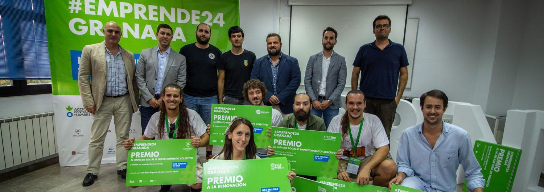 Ganadores del concurso Emprende24 Granada